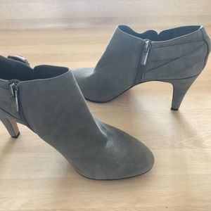 Vince Camuto Gray Suede Ankle Boots